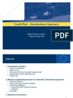 Credit Risk - Standardised Approach