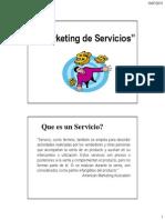Presentacion Marketing Servicios