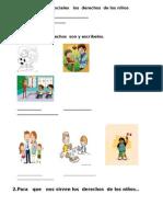 Evaluación   de sociales   los  derechos  de los niños.docx