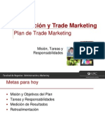 Semana 13 - Plan de Trade Marketing