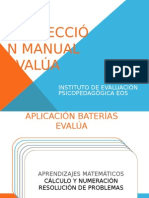 Correccion Manual Evalua Ejemplo Evalua 5 y 0