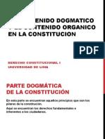 Parte Dogmática y Orgánica de la Constitución - Diapositivas