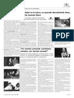 Entrevista a Lucía Cedrón por Mercedes Chiesa - Septiembre 2008-