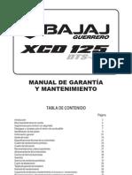 Manual XCD 125