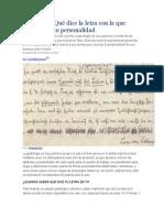Grafología Qué dice la letra con la que escribes de tu personalidad.docx