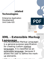 EAD Lecture4 - XML and Related Technologies