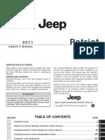 2011 Patriot manual de usuario
