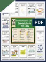 Calendario Escolar 2015-2016 UAC