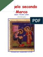 Vangelo Secondo Marco - Interlineare Con Note