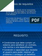 Especificación de Requisitos (Analista Funcional)