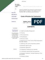 Code of Practice 18001