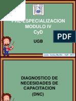 Diagnostico de Necesidades de Capacitación