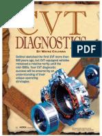 CVT DIAGNOSTICS