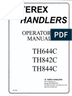 Manual de Operación Telehandler Terex