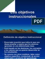 Objetivos Instruccionales