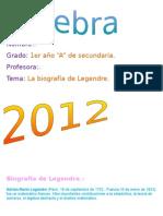 Biografia de Legendre