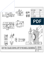 shaper tool head  auto cad drafted