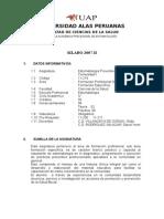 Silabo Estomatologia Preventiva 2007