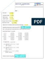 Mathcad - Laydown Area Deck Plate