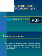 ANALISIS DE COSTO VOLUMEN UTILIDAD (CVU)