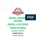 Diesel Training Centre , tughlakabad, training report
