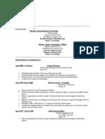 Andres Pou 2009 -New Resume