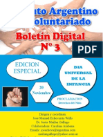 Boletin Voluntariado N° 3
