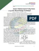 SRAM Performance Enhancement Using Sense Amplifier Based Design Technique