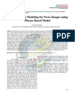 Automatic Tag Modeling for News Images using Phrase Based Model