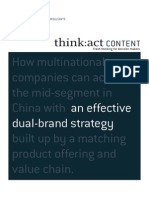 Roland Berger Dual Brand Strategies 20130902