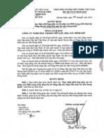 1949-QD-BSR Quyet Dinh Ban Hanh Quy Dinh Phoi Hop Giua Cac Bo Phan Cua BSR Trong Trien Khai DA NCMR