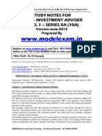 NISM Investment Adviser Study Material