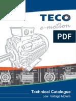 LV Motors Catalogue, Teco