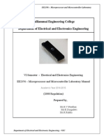EE2356-Microprocessor and Microcontroller Lab