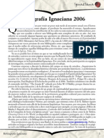 Bibliografía Ignaciana 2006 - Ignaciana