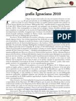 Bibliografía Ignaciana 2010 - Ignaciana
