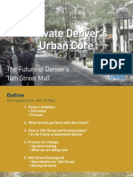 Activate Denver's Urban Core