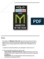 XOLO-Snapdeal - Marketer of the Year