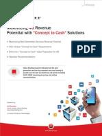 Maximize 4G LTE Revenue Potential With Concept to Cash Solutions