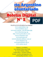 Boletin Voluntariado N° 1