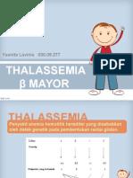 Thalassemia Beta Mayor KASUS II