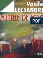 Alecsandri Vasile - Muntele de Foc (Tabel Crono)