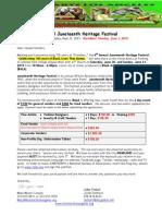 2015 Juneteenth Heritage Application