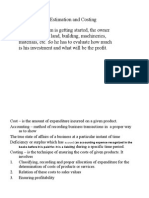 Estimation and Costing (ppt)