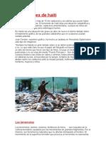 Las Muertes de Haiti y Los Terremotos