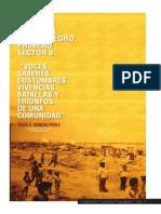 Libro Historia Local Del Barrio Negro Primero - Julio 2013