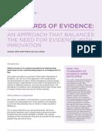 CCIA NoSmallChange Toolkit 10 - The NESTA Standards of Evidence 6pp