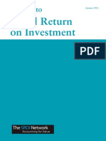 A Guide to Social ROI Investment, 108pp