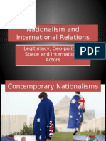 10 - Nationalism and International Relations