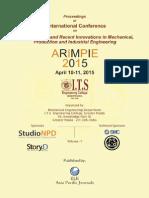ARIMPIE-2015(Vol-1)